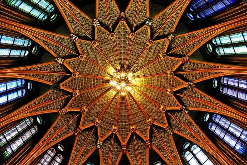 Купол в здании Парламента Венгрии