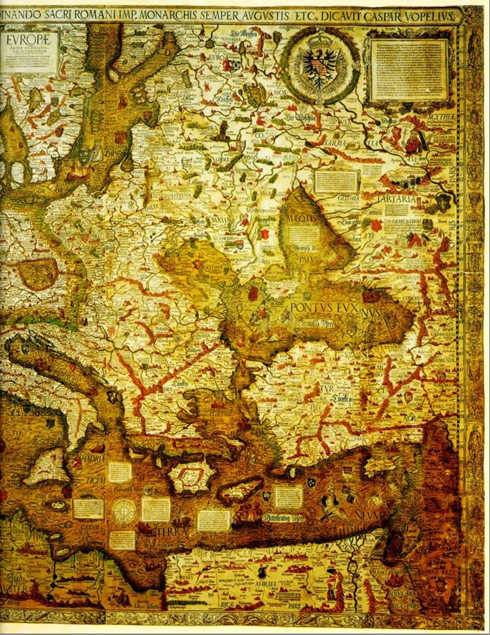 Карта Карла V