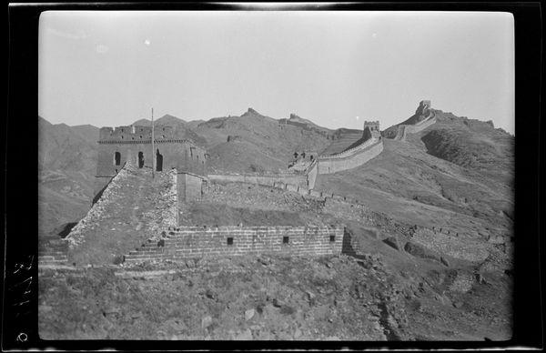 Великая Китайская стена. Сравнение фотографий sibved