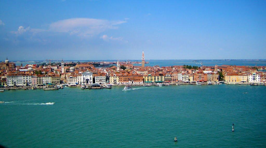 потопленный город Венеция