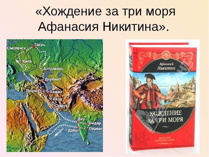 хождение за три моря Афанасия Никитина