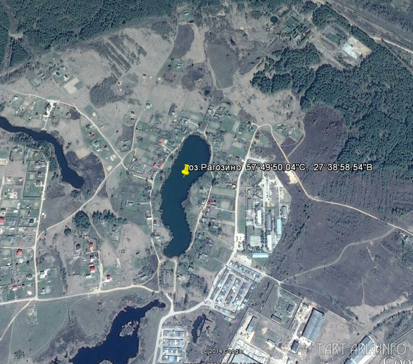Озеро Рагозино