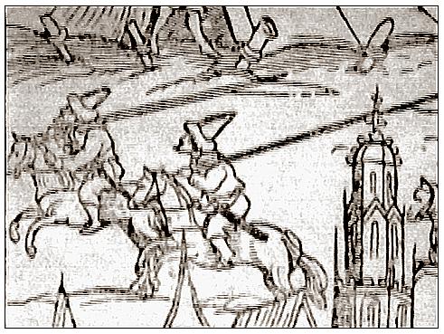 Турки штурмуют Вену.