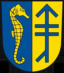 Герб коммуны Вальрас Плаж в Руссильоне.