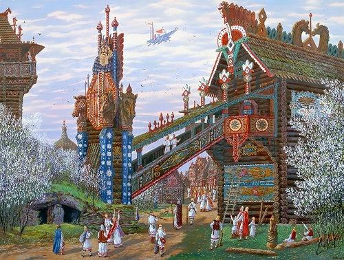Волга - Ра. Волгария (Булгария).