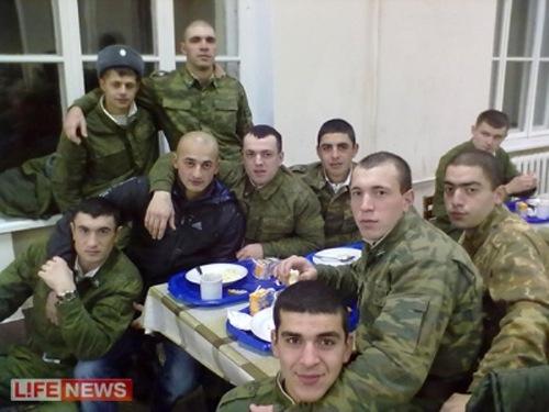 Российская армия.