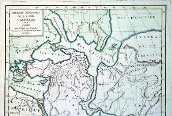 Карта из коллекции университета г. Уппсала. Швеция.