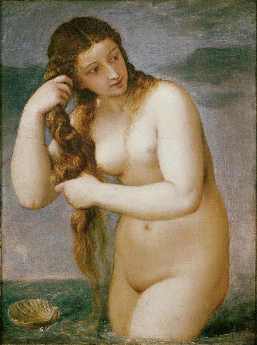 Тициан. Венера Анадиомена