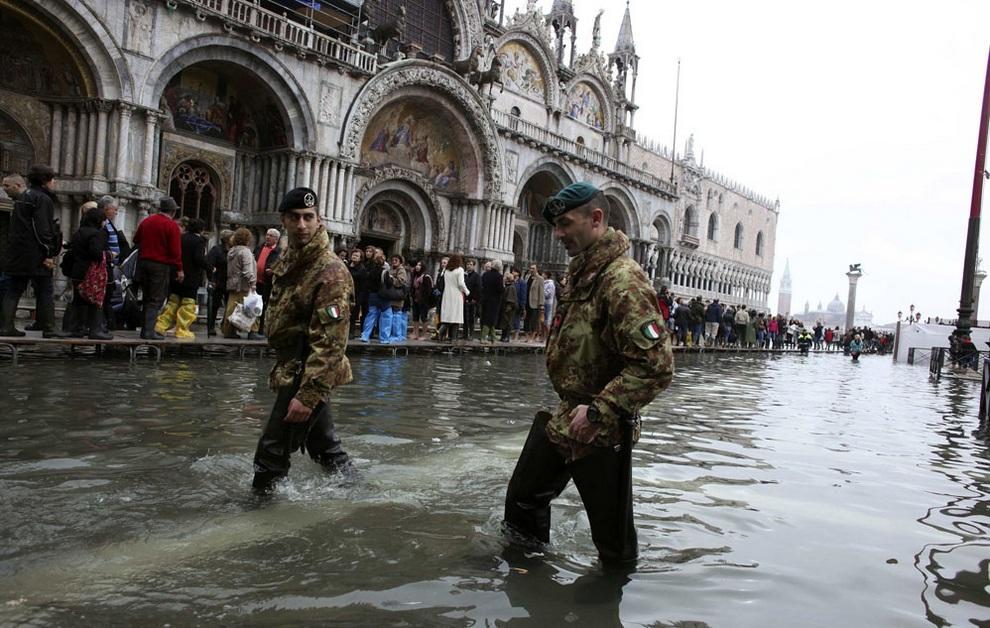 венеция площадь потоп
