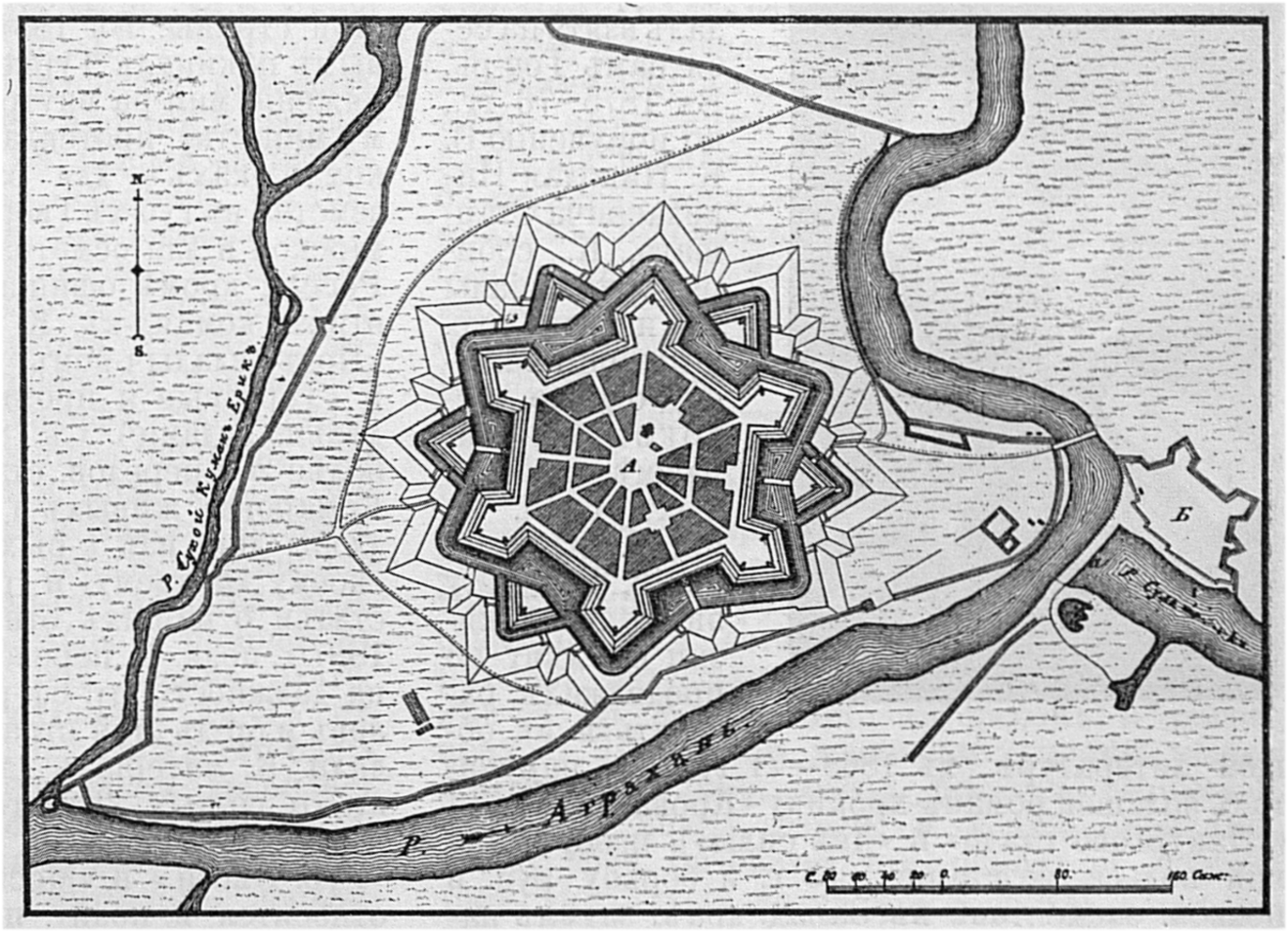 Крепость Аграхань