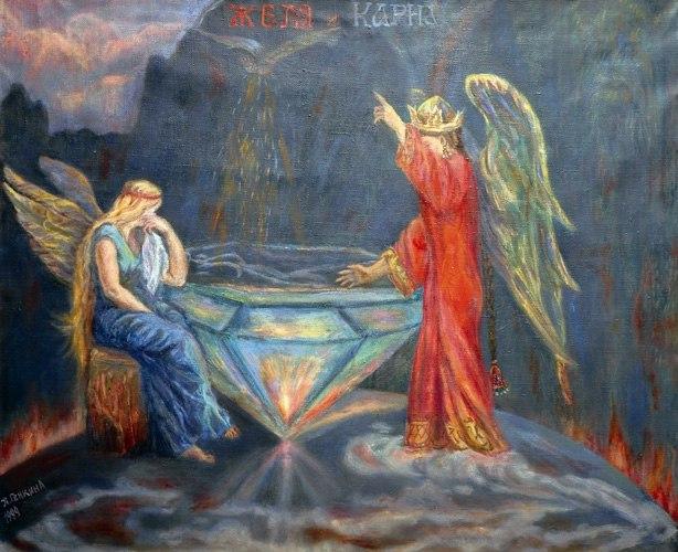 Богини Карна и Желя