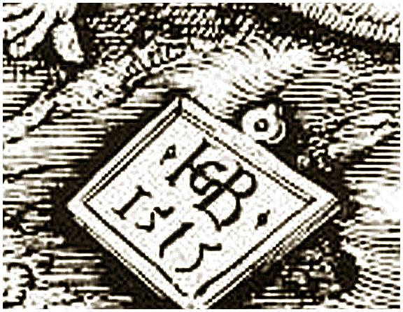Увеличенный фрагмент с датой.