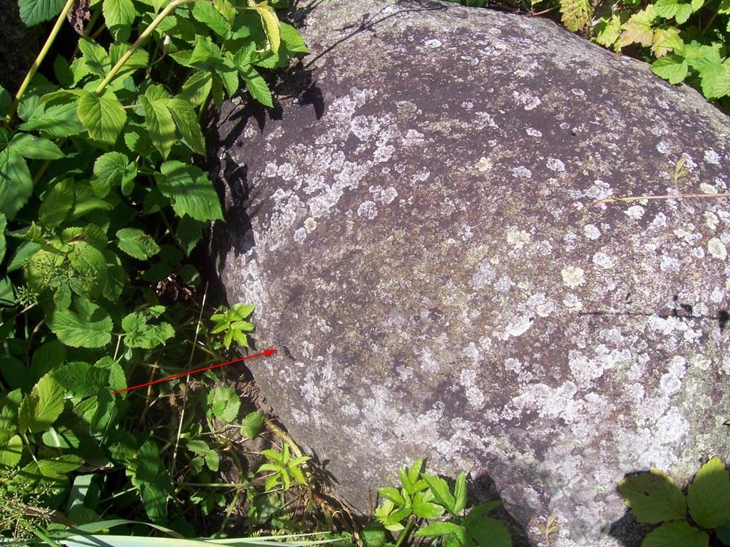 Ольгин камень - следовик