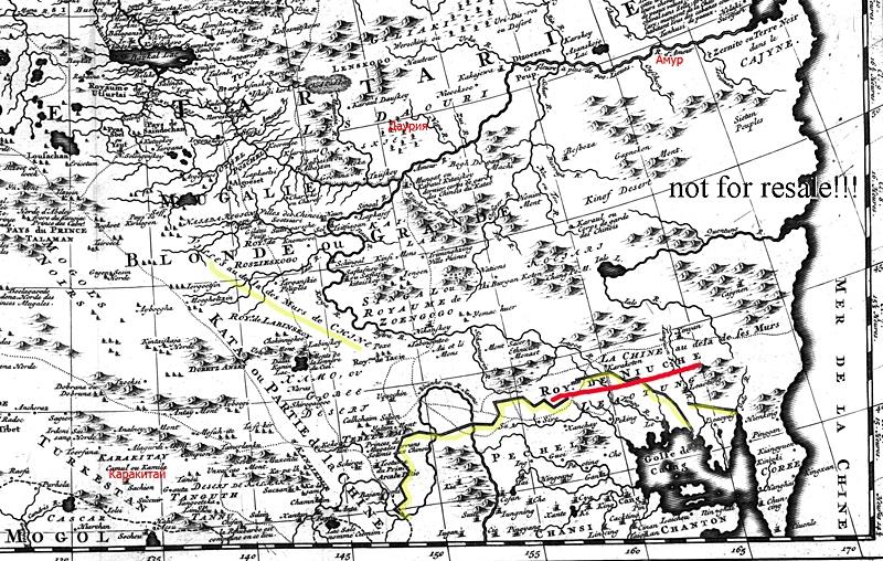 карта Витсена