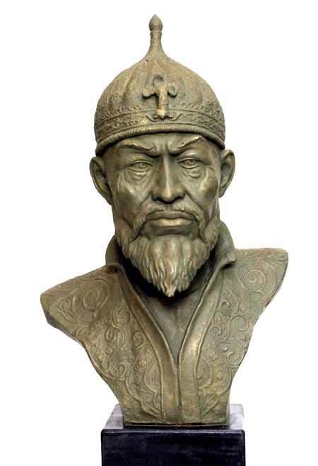 Реконструкция облика Тимура по методу антрополога Герасимова.