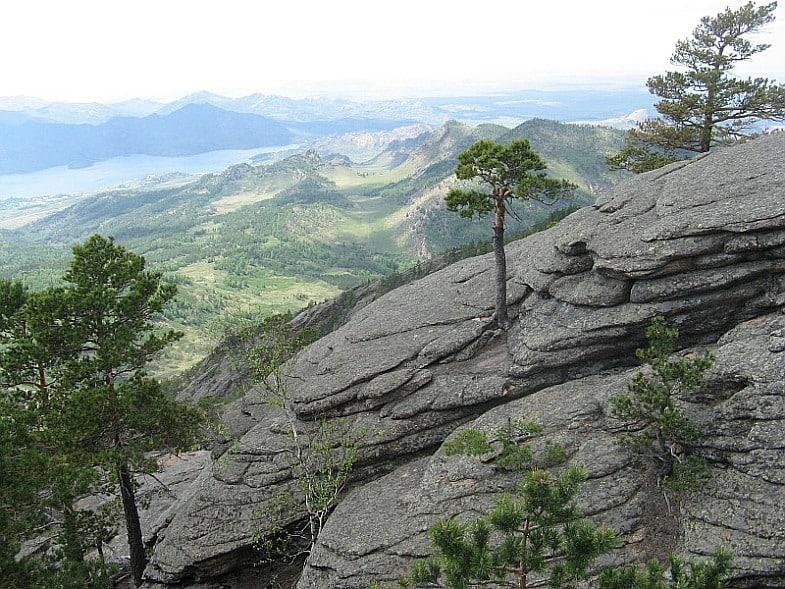 Вид с горы Акбет