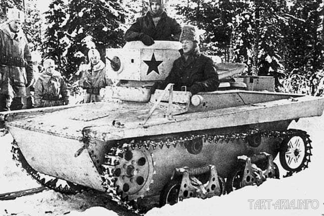 Карельский перешеек. 1940г.