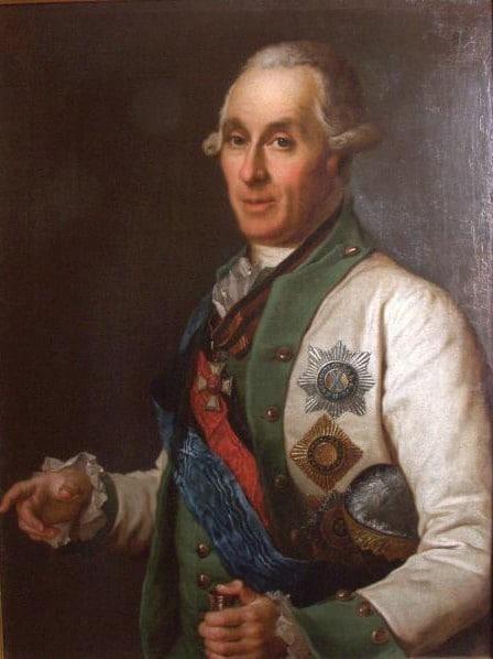 Адмирал С.К.Грейг. (Неизв. худож.)