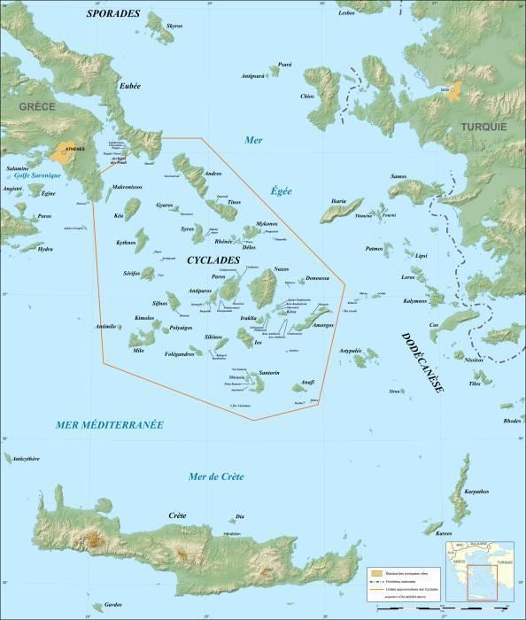 Кикладский архипелаг.