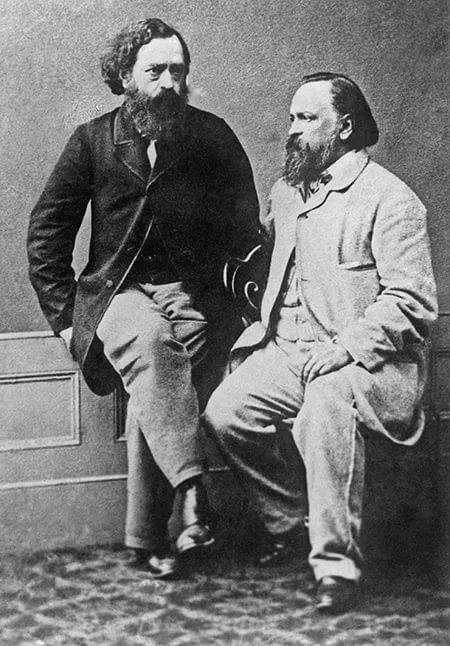 Герцен и Огарёв