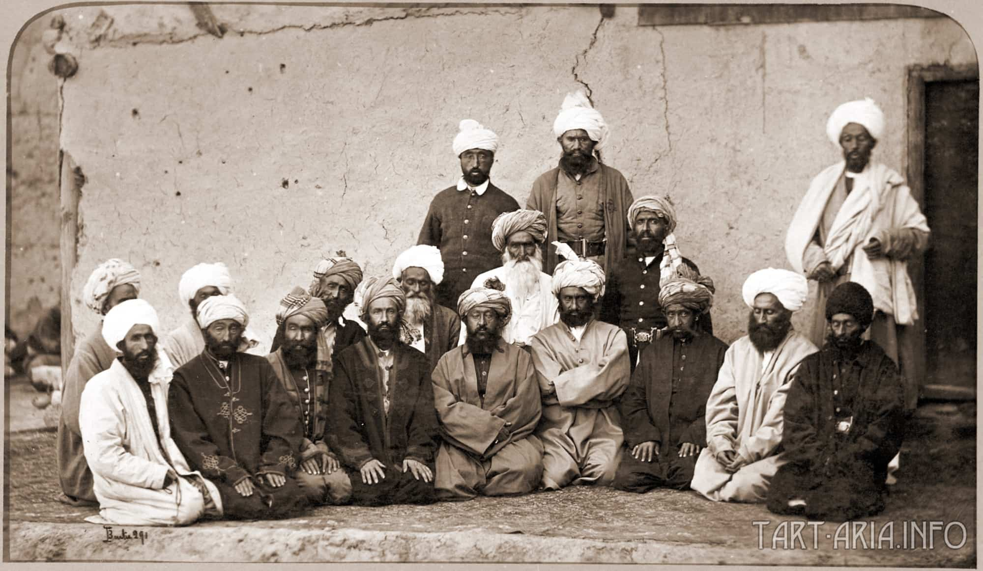 Sirdar Habibullah Gilzai and other Khans in 1879-80