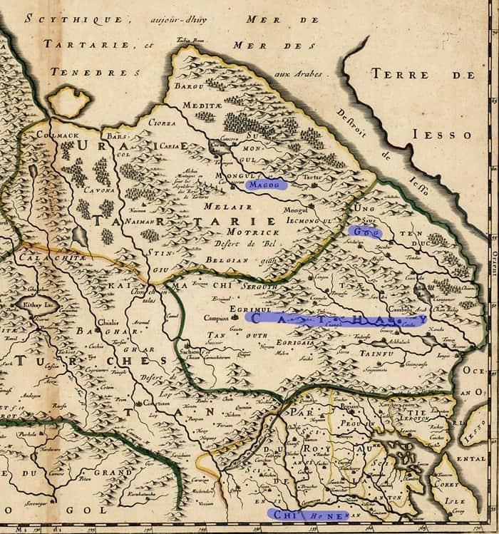 карта Тартарии