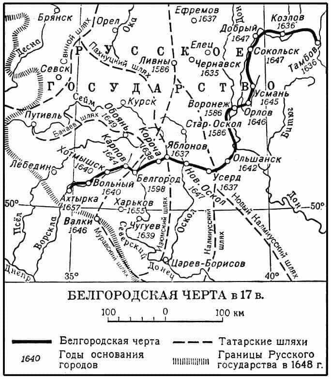 Белгоро́дская Черта́
