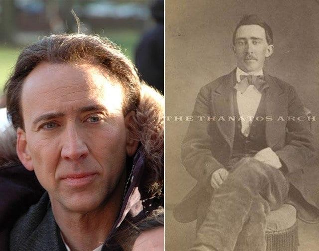 Николас Кейдж и человек из 1861-1865 годов