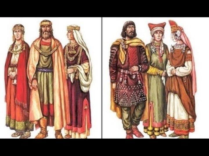 Реконструкция внешности и платья антов.
