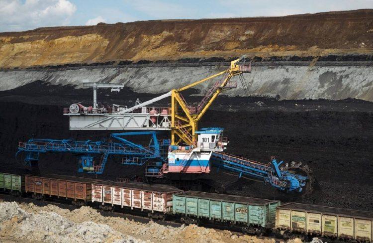 Так добывают уголь открытым способом