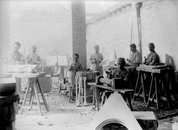"""1894г. Производство """"античной Греции""""."""