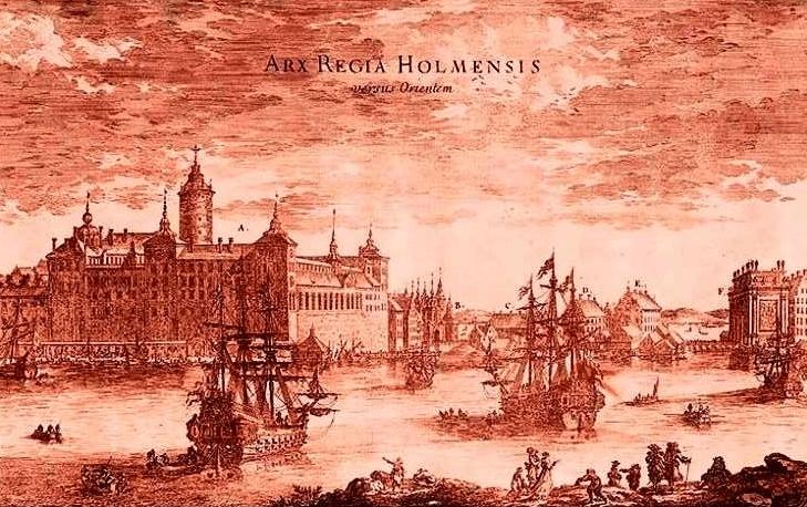 Швеция 1687 год