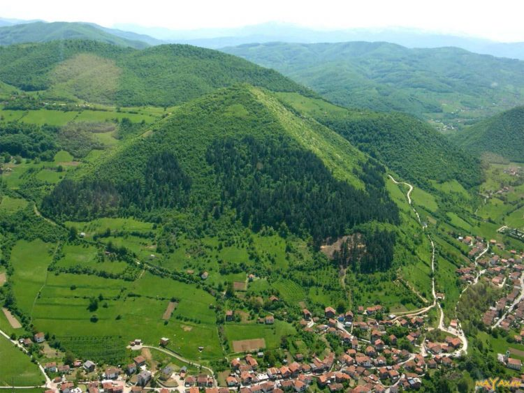 Die Pyramide von Visoko. Bosnien-Herzegowina.