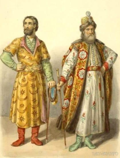 русские одежды