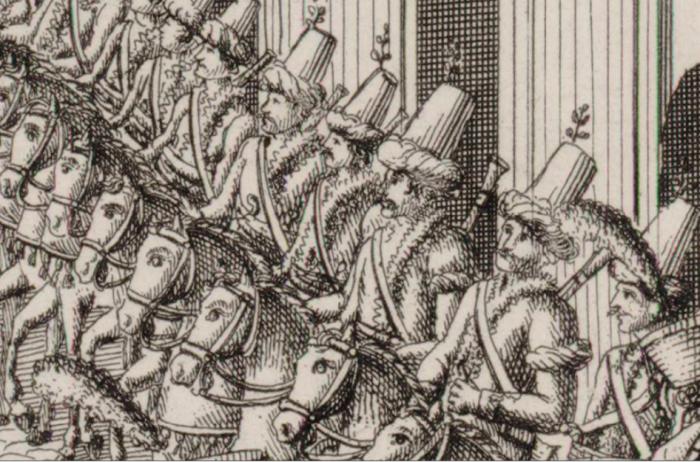Вход французской армии Императора Наполеона в город Москву