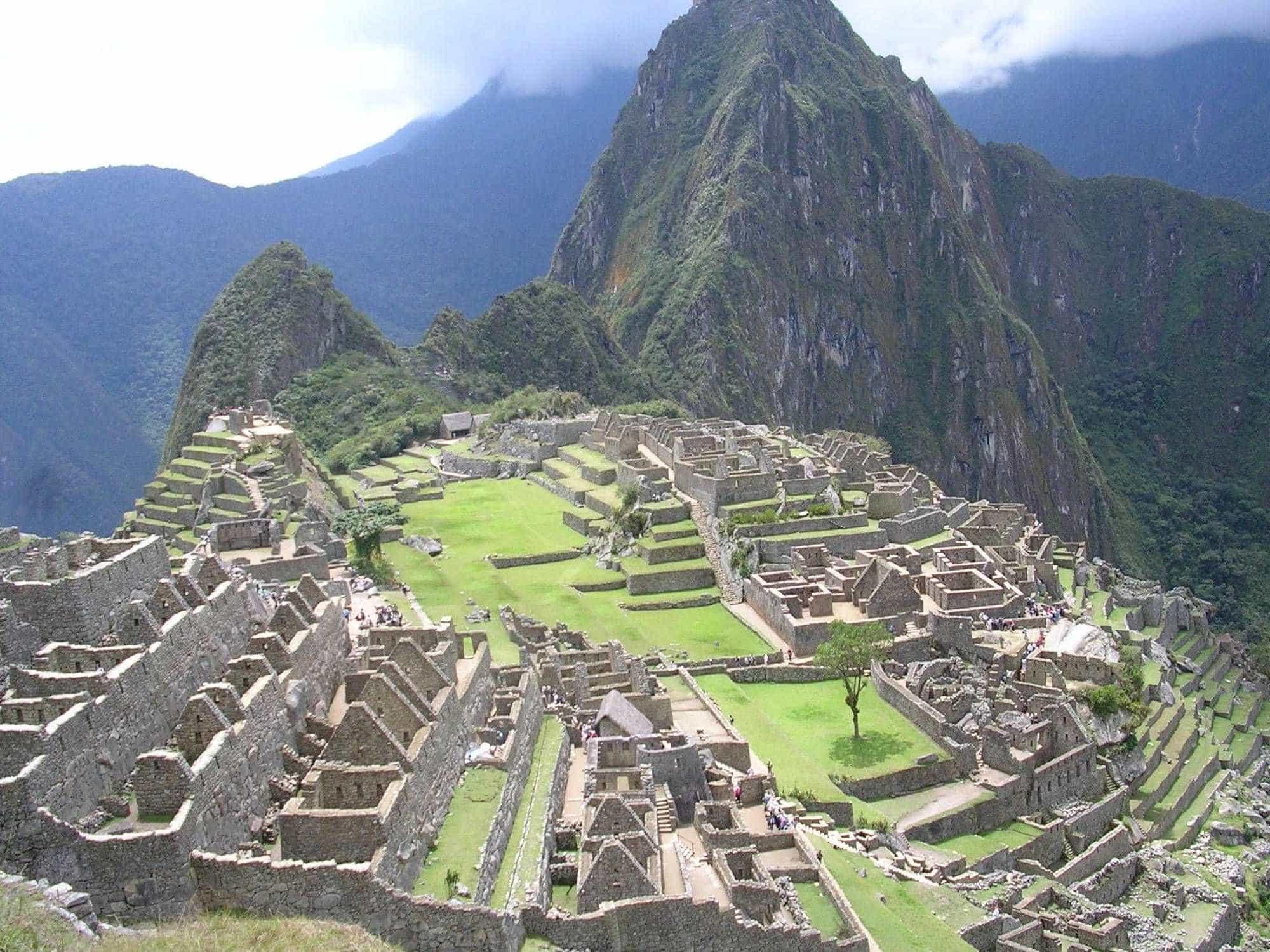 Мачу-Пикчу. Перу.