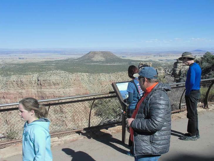 Большой каньон в США.