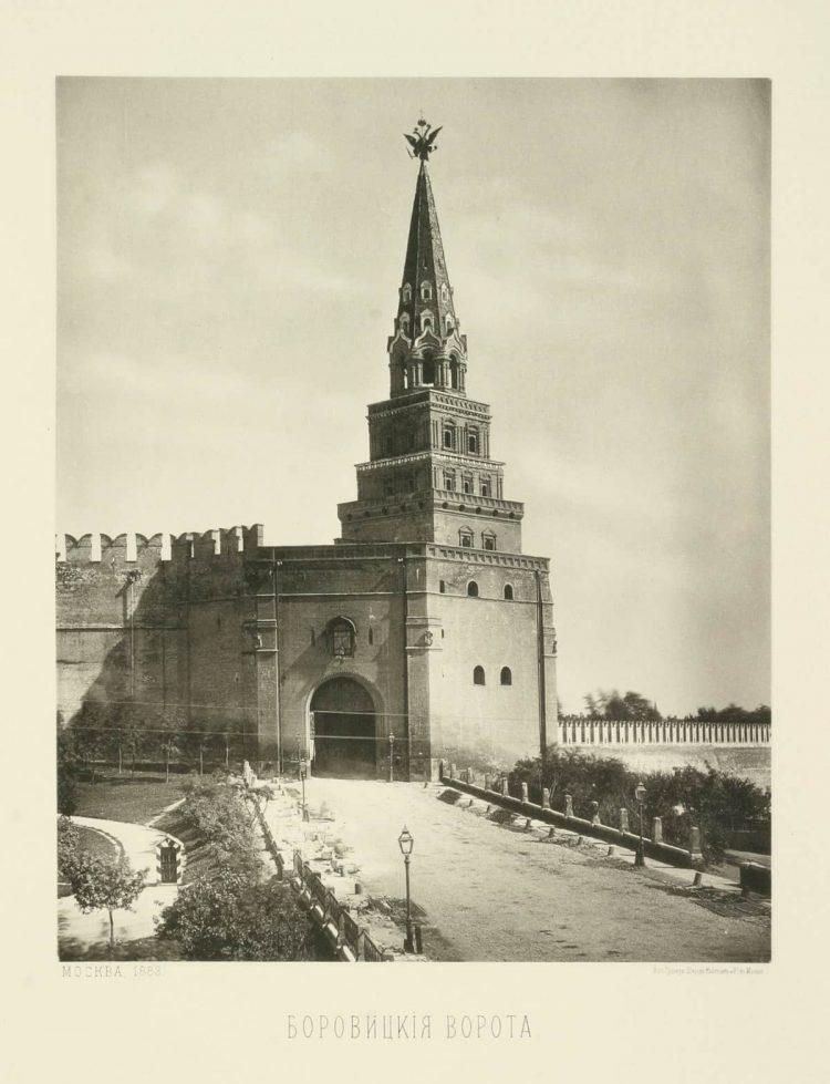 русские часы на боровицкой башне