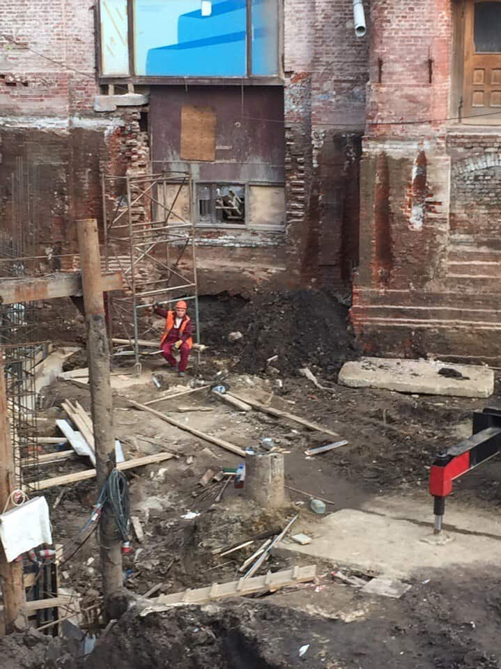 здания занесенные грунтом Sibved