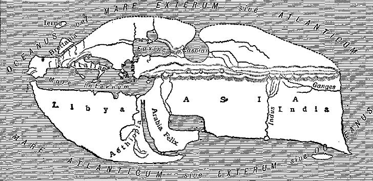 Карта Страбон