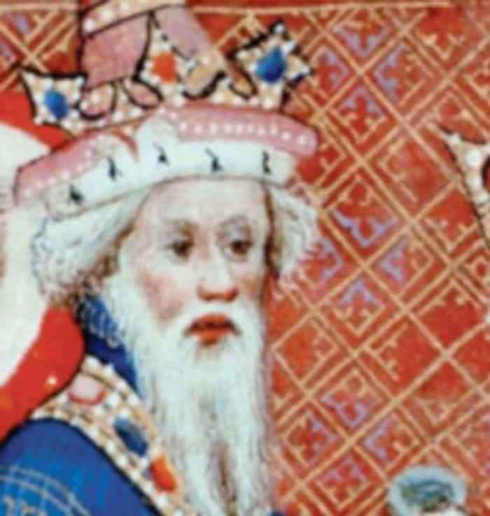 Хан Хубилай. Фрагмент средневековой миниатюры.