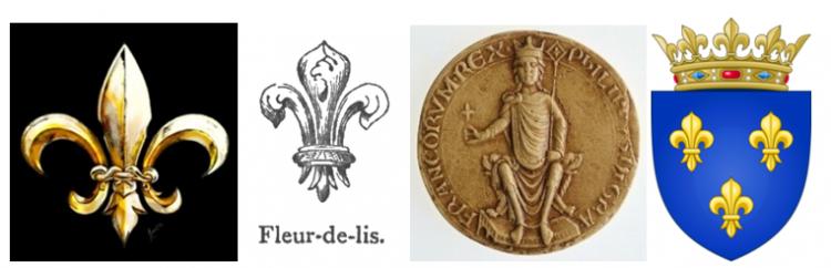 символ Флерделиз