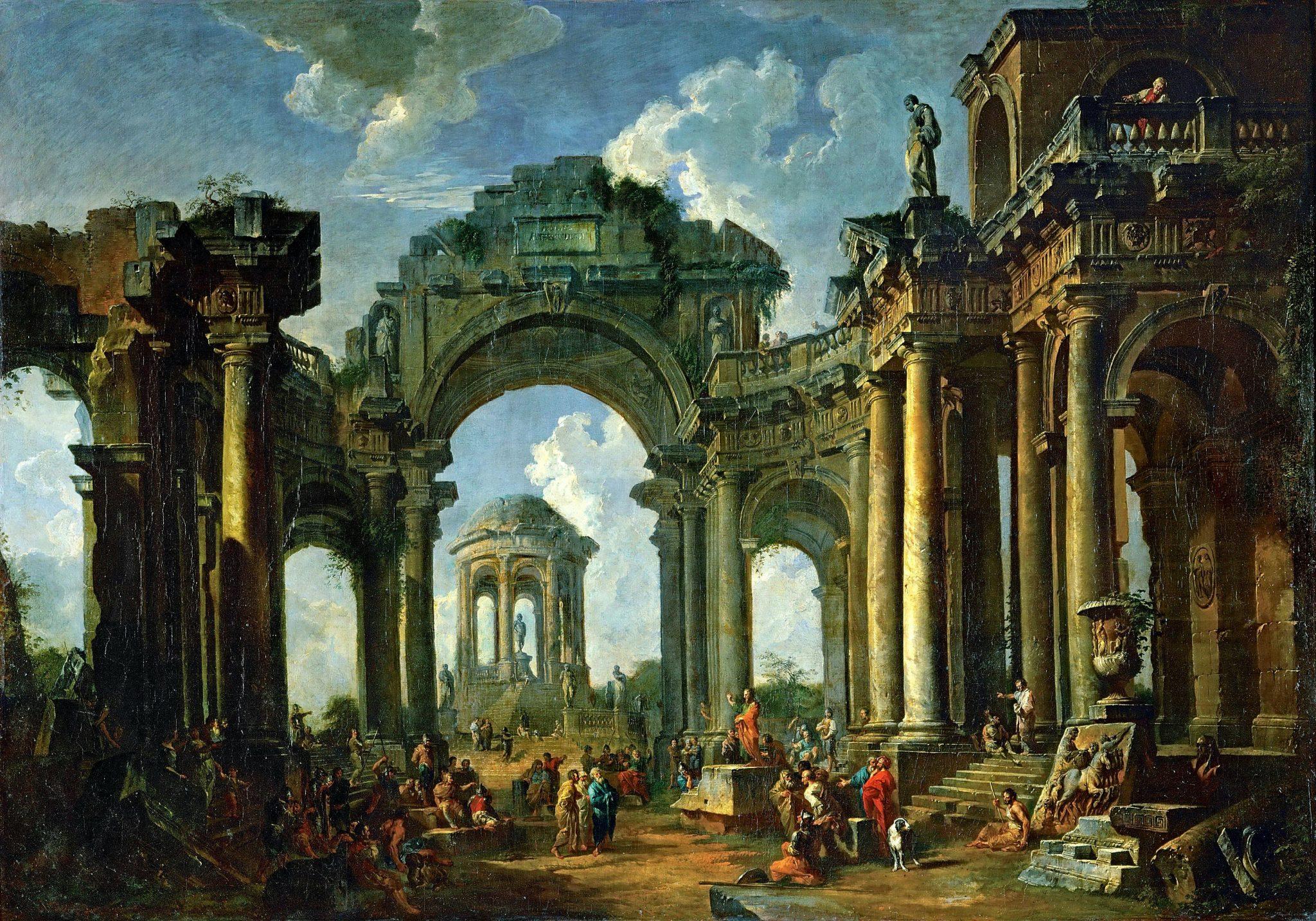 послекатастрофные руины