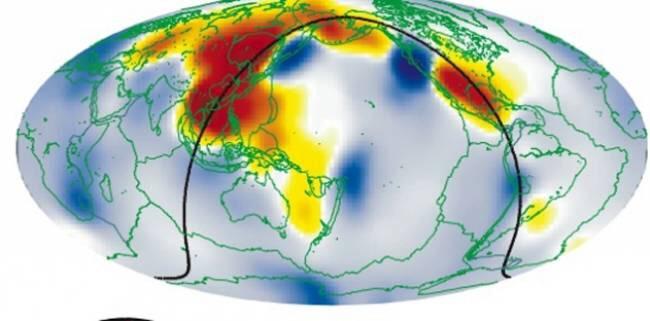 Толщина подкоркового океана