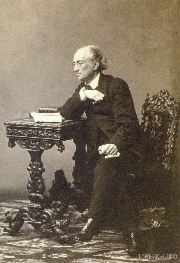 Ф. И. Тютчев. 1860—1861 гг. Фотография С. Л. Левицкого