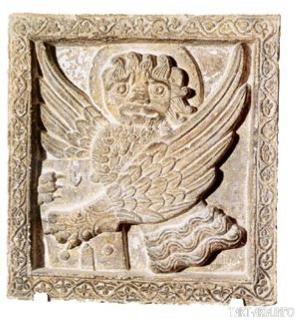 Барельеф с изображением Золотого льва. Венеция, XIIIвек.