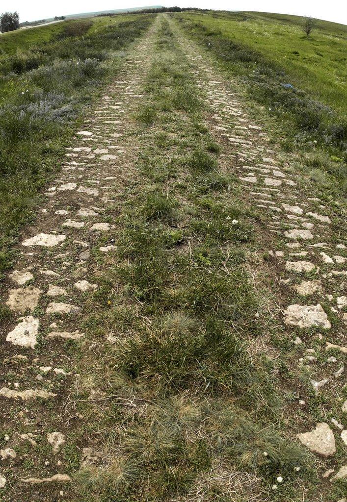 Екатерининские и римские каменные дороги Sibved, Сибвед