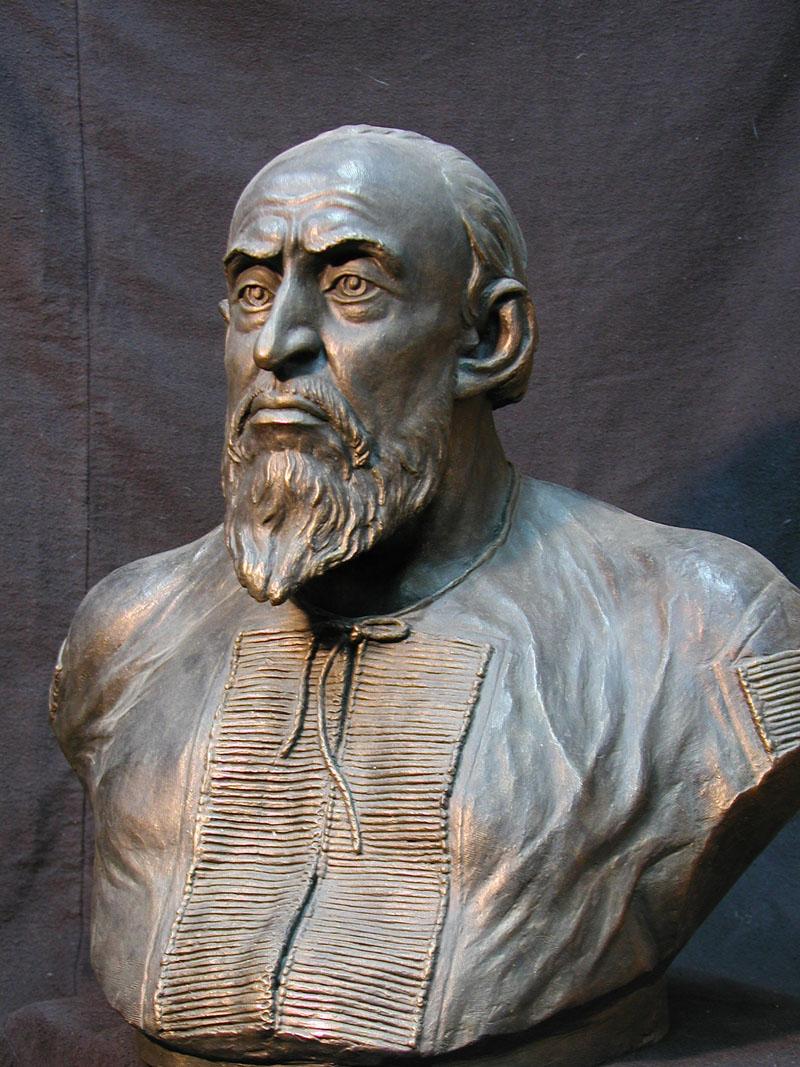 Царь Иван Васильевич Грозный (1530-1584). Реконструкция М.М.Герасимова