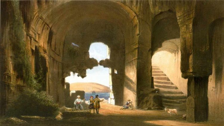 Развалины раннехристианской церкви