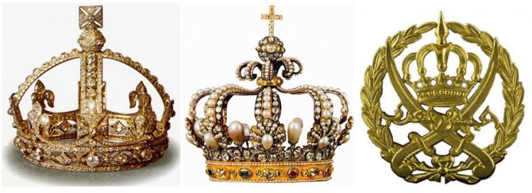 короны королей